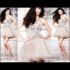 """Sherri hill prom dress """"1403"""" size 2"""
